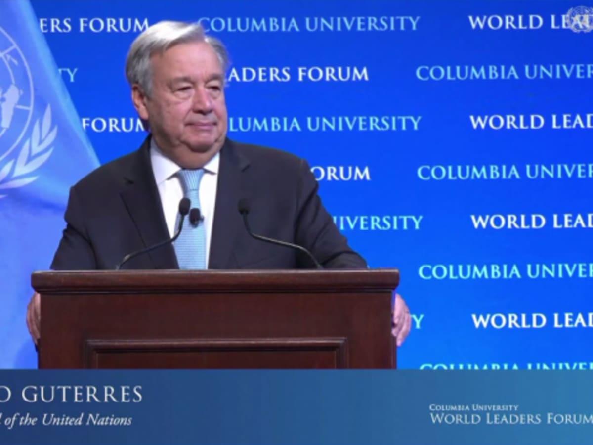 ENSZ-főtitkár: a vesztünkbe rohanunk | ClimeNews