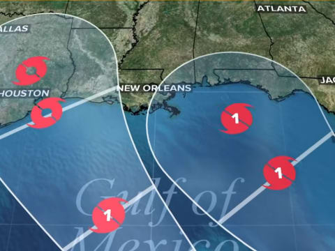 Ilyen még nem volt: két hurrikán egyszerre érkezik   ClimeNews