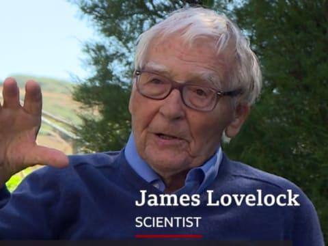 101 éves James Lovelock környezettudós   ClimeNews -Hírportál