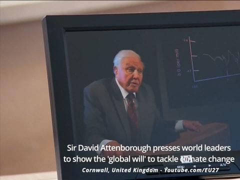 David Attenborough - Már csak a globális akarat kell hozzá | Climenews
