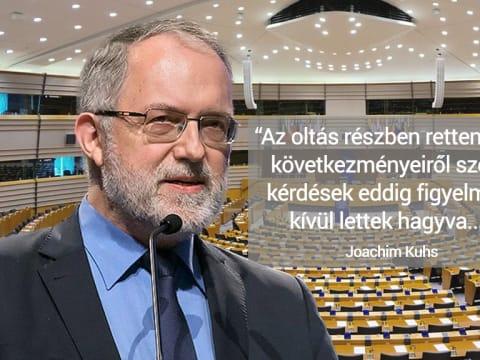 Joachim Kuhs beszéde az EU-Parlamentben