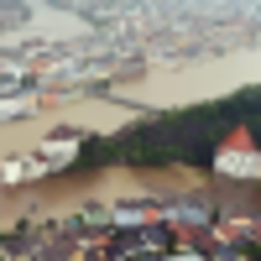 Árvízkatasztrófa: egyre magasabb a Duna vízszintje Passaunál