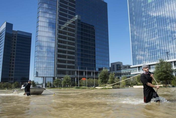 Fotó: ERICH SCHLEGEL/AFP   Harvey után nehezebb lesz kételkedni a klímaváltozásban - ClimeNews