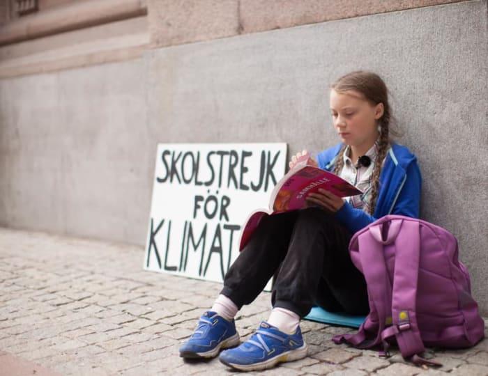 Greta Thunberg 16 éves környezetvédőt jelöltek Nobel-békedíjra | ClimeNews