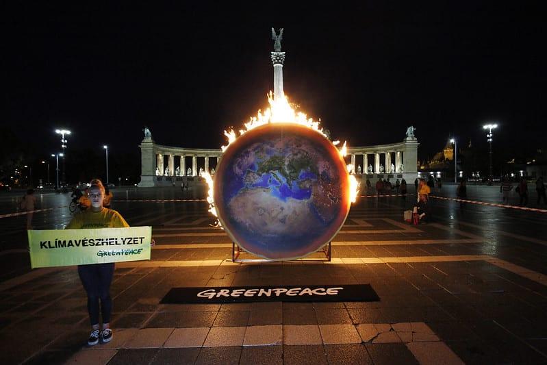 Zöld programot követel a Greenpeace   ClimeNews