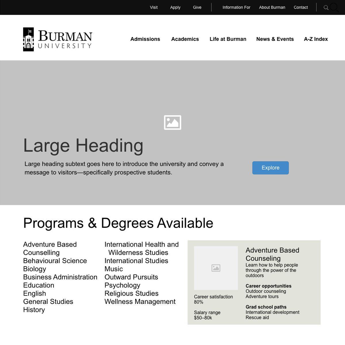 Burman University