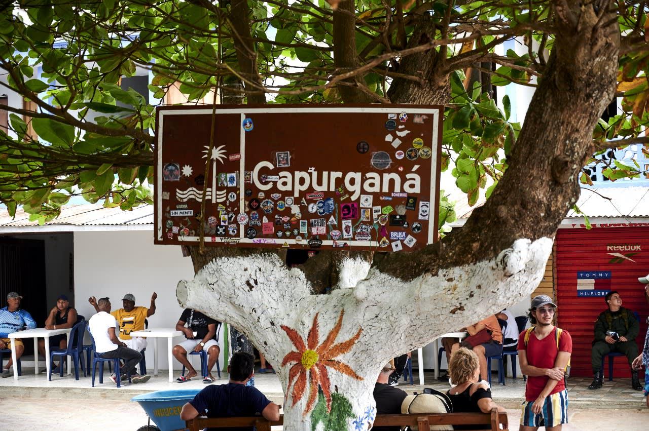 Letrero Capurganá
