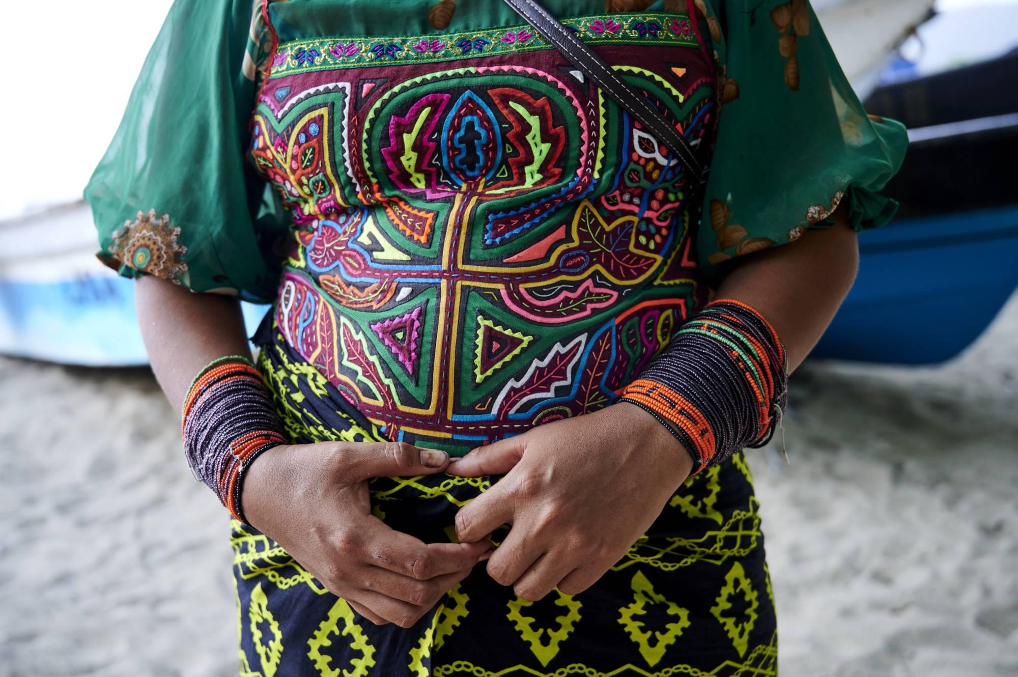 Vestimenta mujeres gunadule