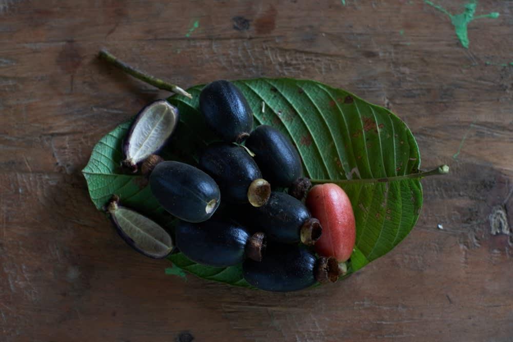 Huitillos, frutos silvestres
