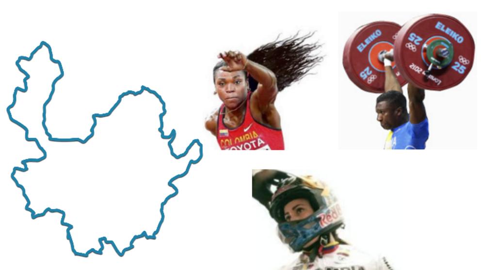 Si Antioquia fuera un país, ¿cómo le iría en los olímpicos?