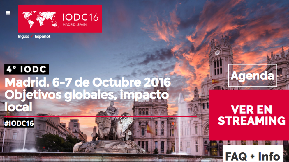La conferencia internacional de datos abiertos se celebra en Europa