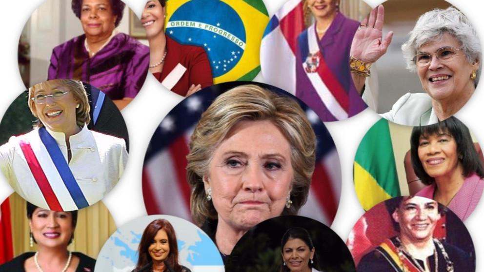 Hillary no será la primera mujer en gobernar Estados Unidos, ¿qué pasa con las mujeres gobernantes de otros países?