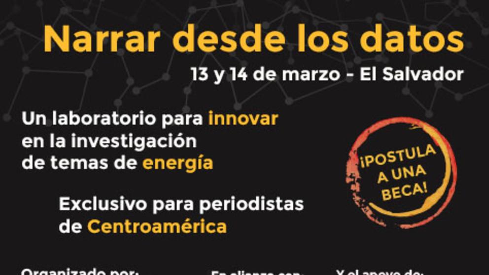 """Participa del taller """"Narrar con datos"""" de OjoLab"""