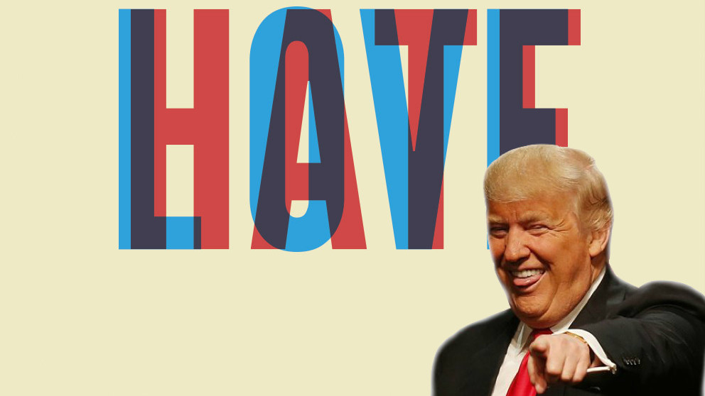 More than 70.000 words to hate Trump