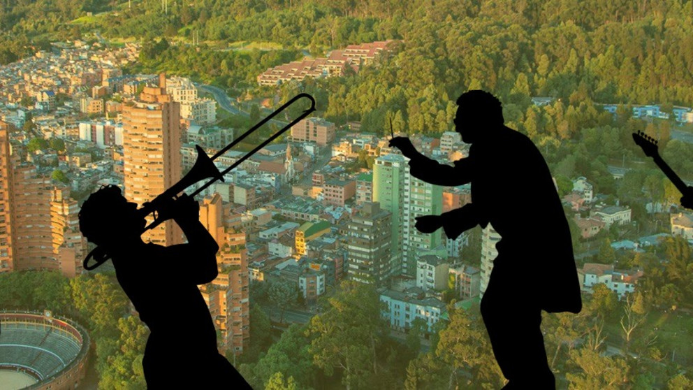 Conoce Bogotá con un increíble mapa musical