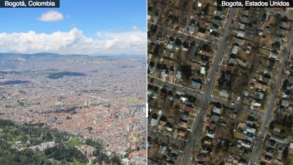 126 ciudades colombianas que tienen un tocayo en el mundo