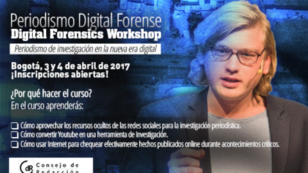 Investiga usando las redes sociales: CdR invita a taller de periodismo digital forense