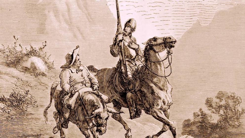Tras los datos de Don Quijote de la Mancha