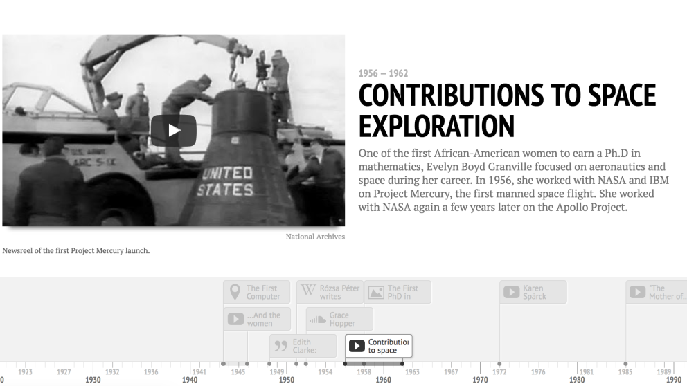 Timeline, herramienta fundamental para narrar historias cronológicas