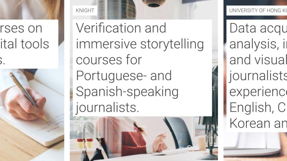 Google lanza programas de actualización para periodistas sin tiempo
