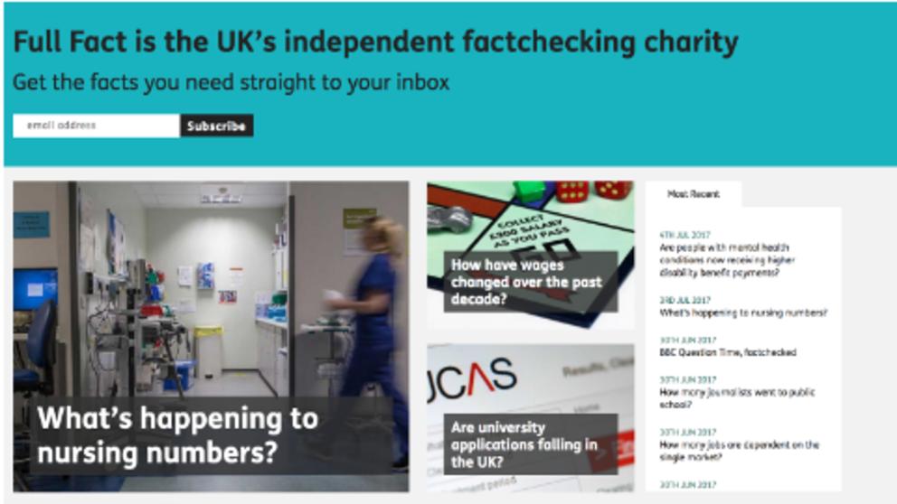 Estos dos herramientas te ayudarán a hacer fact-checking en tiempo real