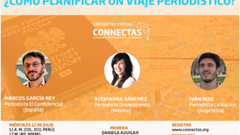 Participa de este curso virtual sobre planeación de viajes periodísticos