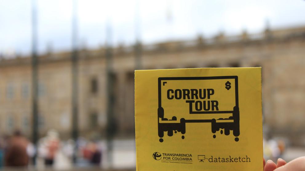 Así fue el recorrido del primer CorrupTour en Colombia
