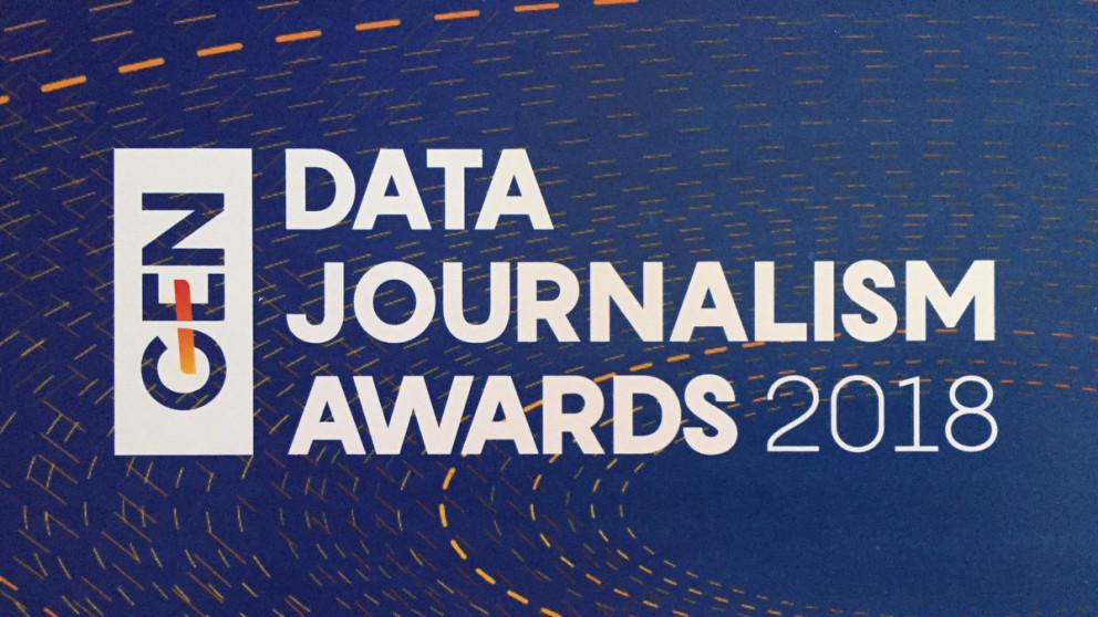 Convocatoria de premios para periodismo de datos a nivel internacional.