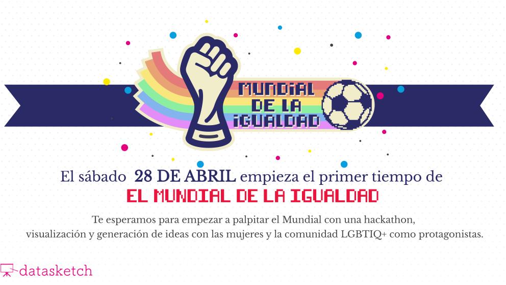 No te pierdas la Hackathon del Mundial de la Igualdad