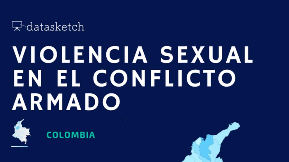 Infografía: Violencia sexual en el conflicto armado en Colombia