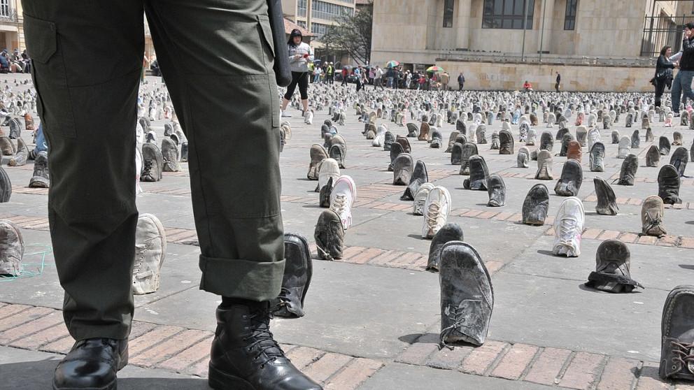 Las minas antipersonal no discriminan