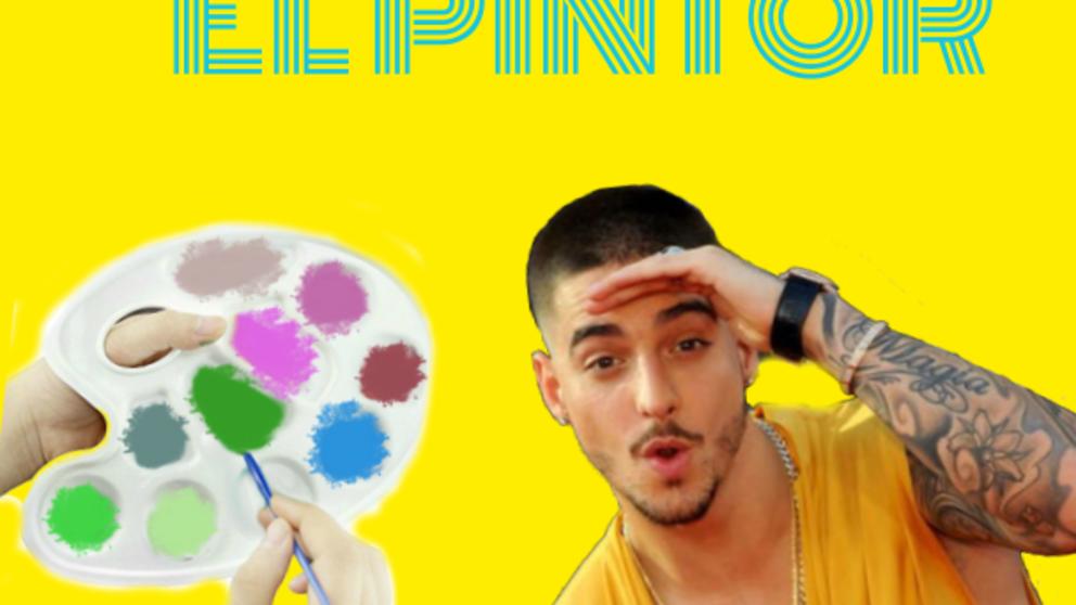 If Maluma painted with his lyrics...