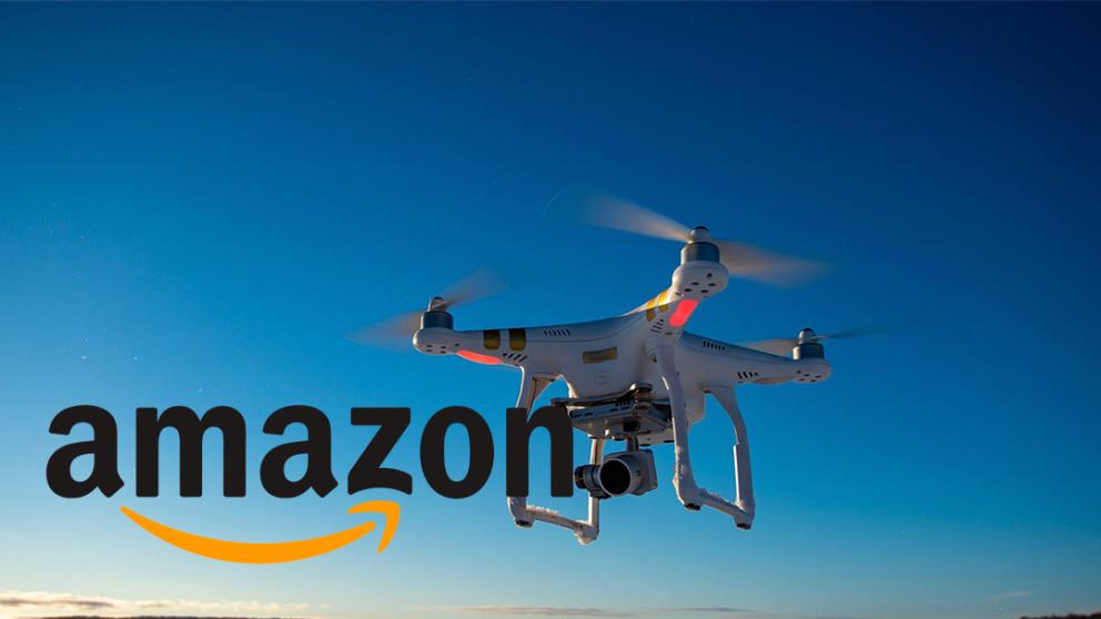 La próximas cámaras voladoras: Amazon Prime Air.