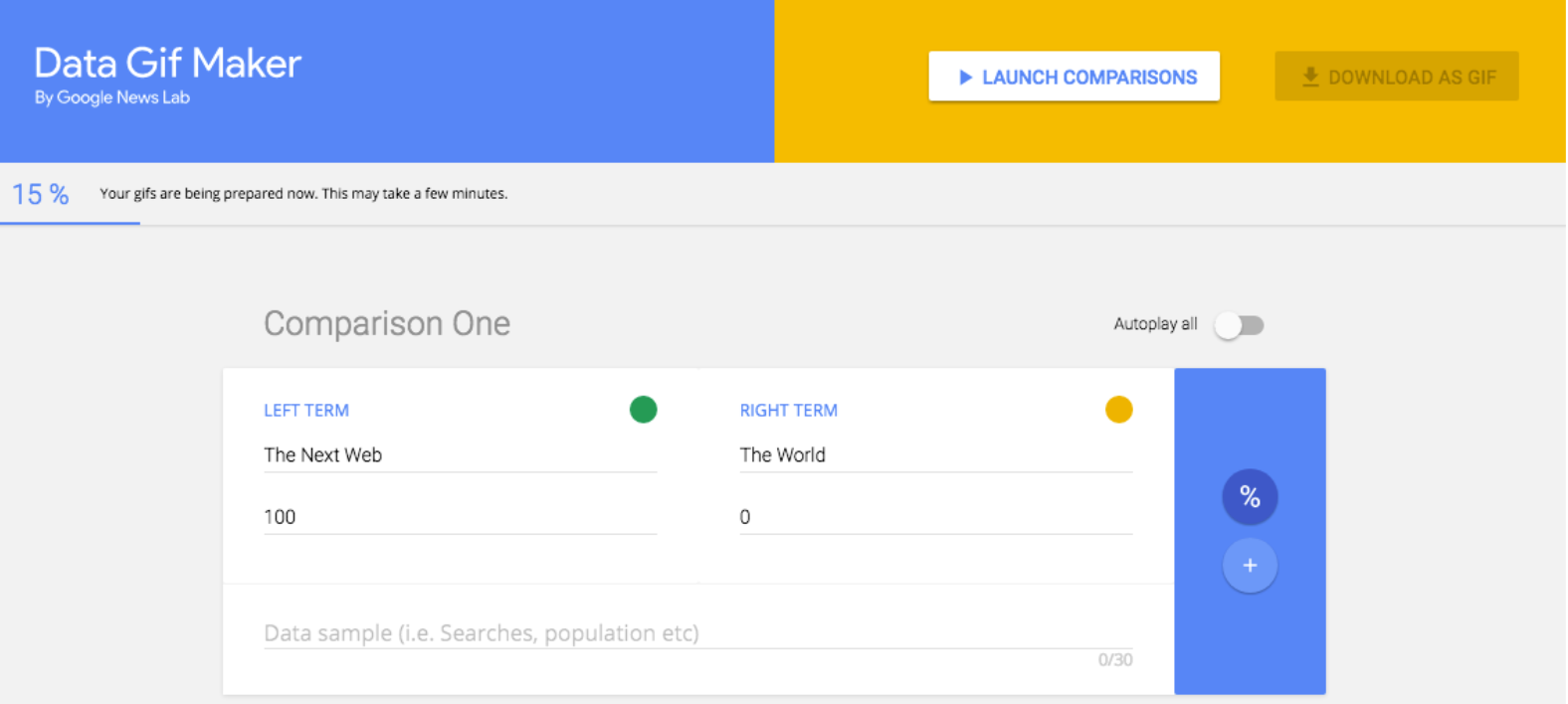 Transforma tus datos en GIFs interactivos con esta herramienta