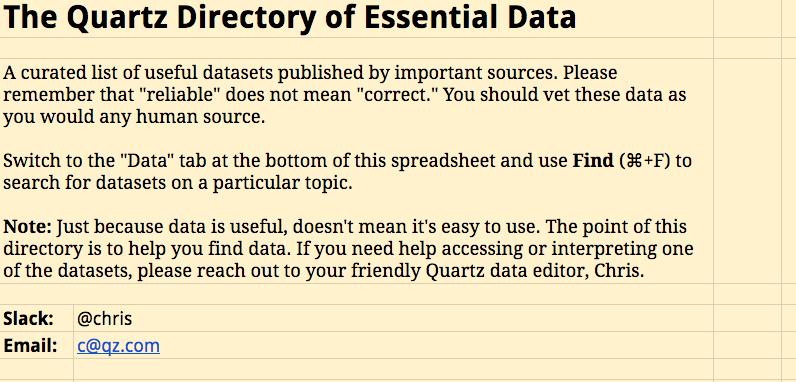 El dataset más completo para encontrar buenos datos en Internet