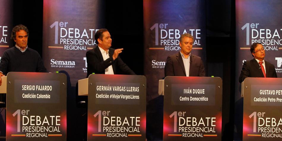 Ires y venires de los candidatos a la presidencia