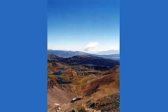 Vue depuis le sommet du Carlit