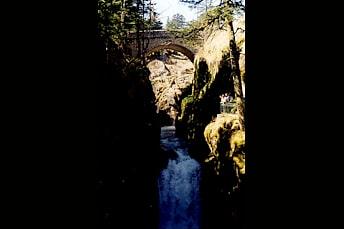Pont d'Espagne à Cauterets