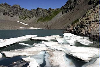 Lac de l'Eychauda, but de la randonnée