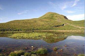Pic de Tentes, photographié depuis la montée