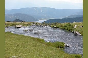 Llosa et lac des Bouillouses