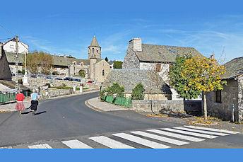 Nasbinals et son église