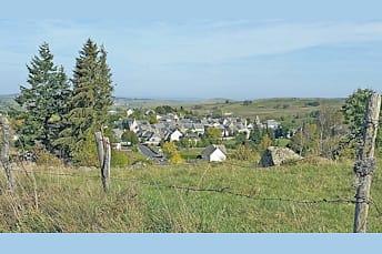 Nasbinals, joli village de Lozère