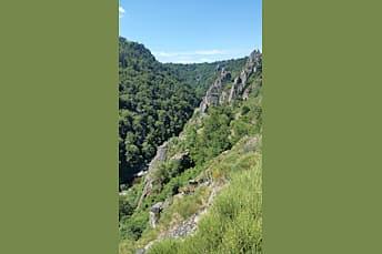 Impressionnante vue sur les gorges