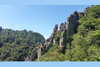 Une autre vue de ces formations rocheuses