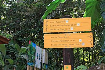 Panneaux Sentier Bras-David