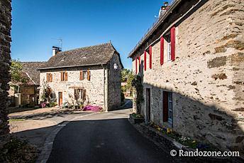 Les maisons du village du Fel
