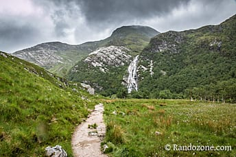 Cascade de Steall Meadows