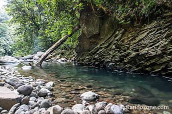 La rivière après la cascade