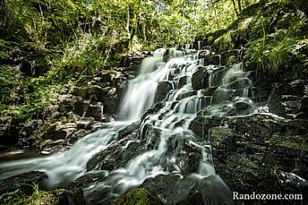 Cascade des Oules à Laguiole